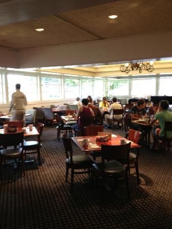 Courtyard Oxnard Ventura: Photo of the dining room, casual for breakfast