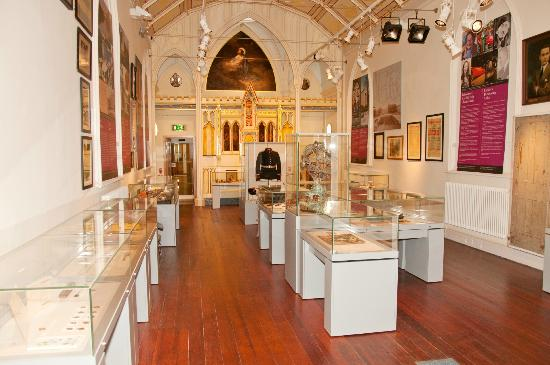 Carlow County Museum : Snapshot of the upstairs gallery