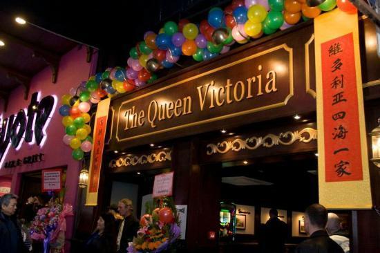 Photo of Restaurant The Queen Victoria at 108 Lockhart Road, Wan Chai, Hong Kong, Hong Kong