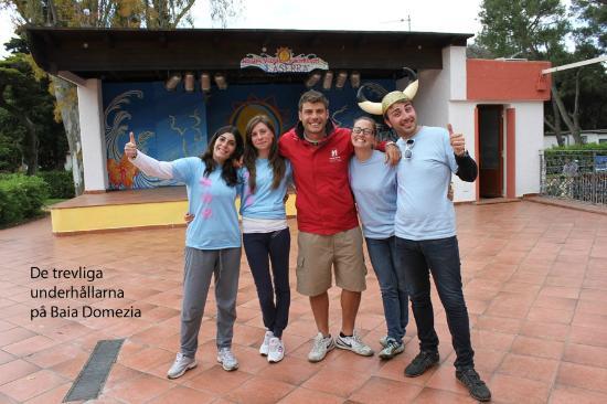 La Serra Holiday Village & Beach Resort : Den absolut finaste underhållningspersonalen som vi alla gillade