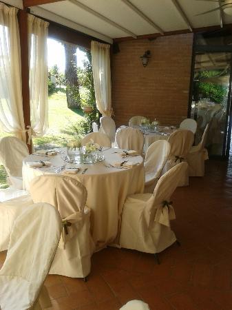 Trere Agriturismo e Cantina: sala ristorante