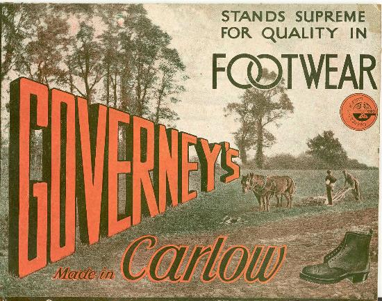 Carlow County Museum: Governey's advertisement