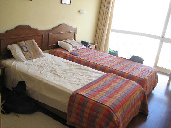Montemar: Pokój, widok na balkon