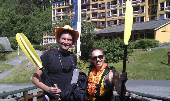 Grande Hytteutleige og Camping: Getting ready for kayaking with style