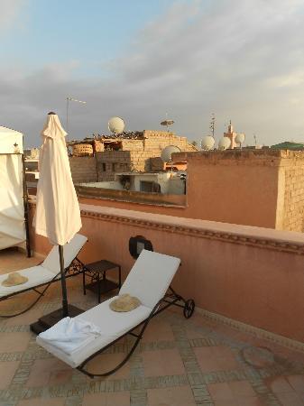 Le jardin d'Abdou: Roof terrace