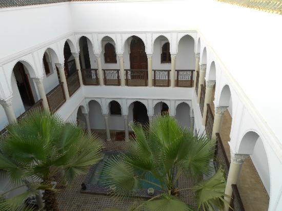 Le jardin d'Abdou: Riad (from the roof terrace)