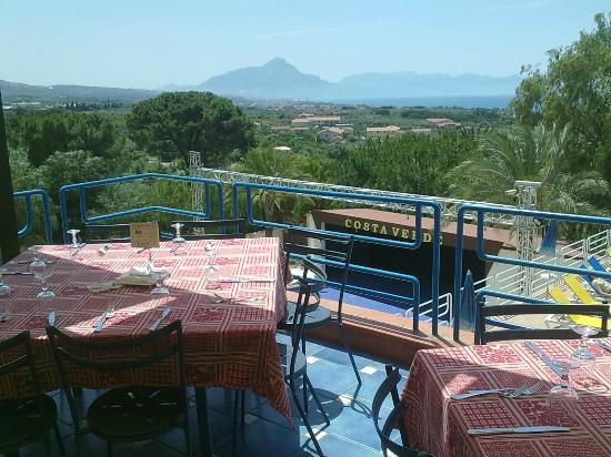 Hotel Club Costa Verde : Vista dal ristorante