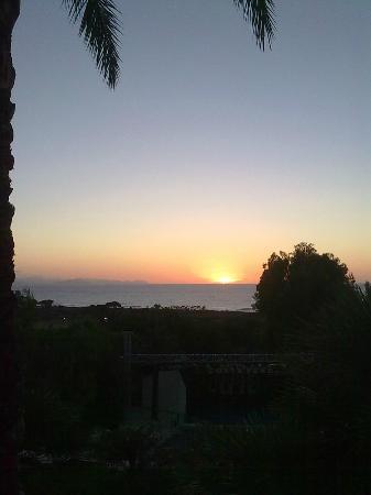 Hotel Club Costa Verde : Tramonto