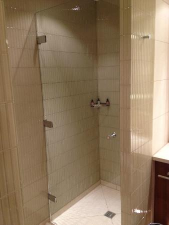 Canary Riverside Plaza Hotel: Nice Shower, Room 509