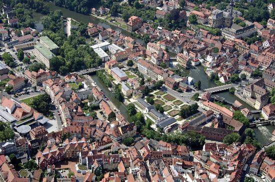Villa Geyerswoerth Hotel: Luftaufnahme mit Hotel