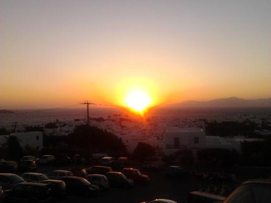 Donousa, Yunanistan: tramonto