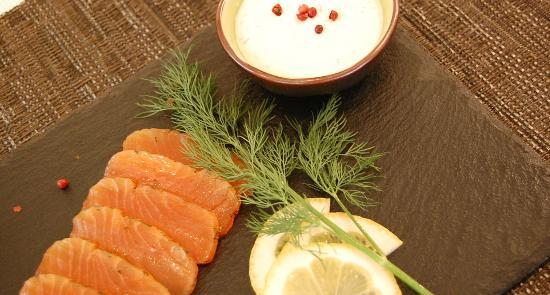 Restaurant Novamesa : Sashimi de saumon