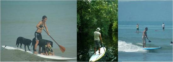 Agua Vida Surf: 2 hours SUP tours on the Ballena coast.