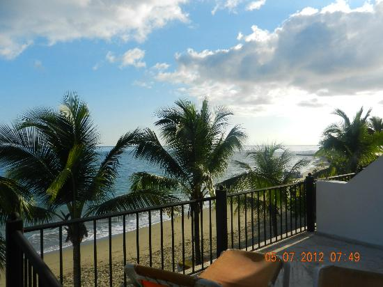 Beach Palace Cabarete: view from the living room