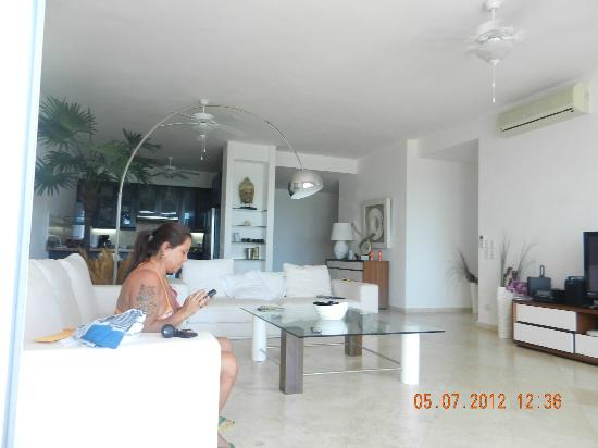 Beach Palace Cabarete: living room