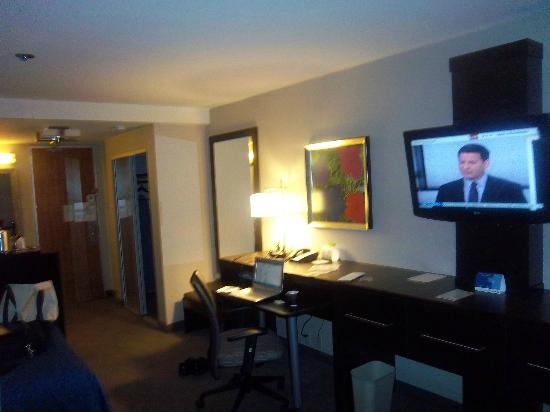 Holiday Inn Downtown Superdome: Comfortable seating for working at your laptop