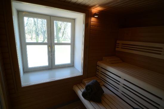 Gutshaus Stolpe: Sauna