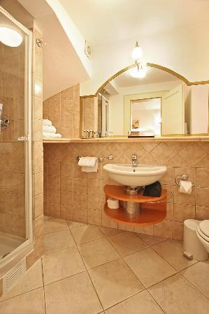 Hotel Residence Retezova: Bathroom