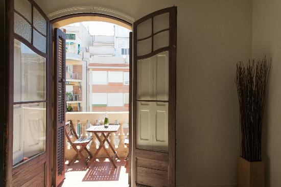 Casa 125 Barcelona: Balcony