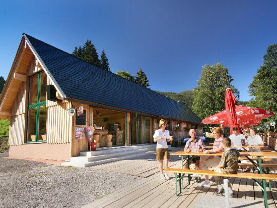 Der Seebacherhof: Pfannerhütte zum Hotel gehörend