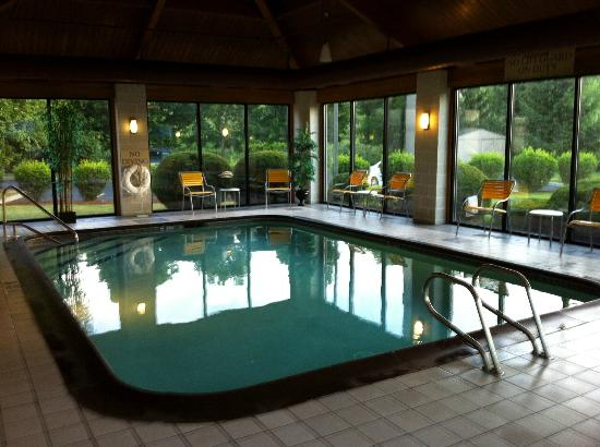 Fairfield Inn Corning Riverside: Indoor Pool
