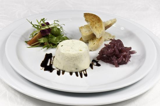 The Horse Guards: Goat's Cheese Panna Cotta