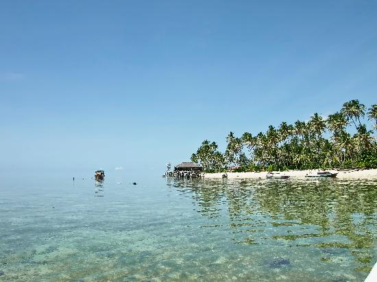 Berau, Indonesien: pristine water, private jetty