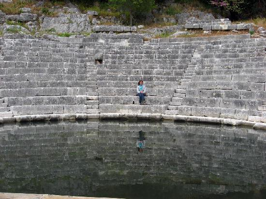 Butrint : The Roman Theatre