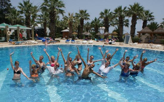 Marhaba Palace Hotel: AQUA GYM - pool - Marhaba Palac