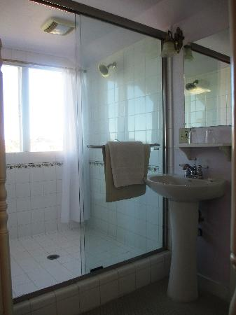 Centrella Inn: shower with two shower heads