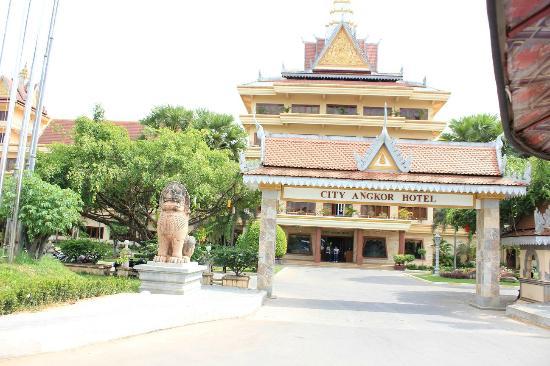City Angkor Hotel: 外観