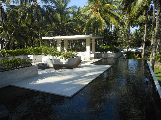 Kelapa Retreat Bali: Dach unseres Bungalow´s
