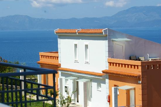 Thalassa Hotel & Spa Paleros: Ionian Sea backdrop.