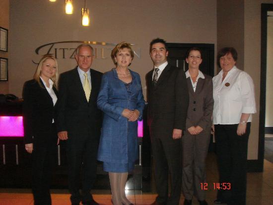 Chez - K's Restaurant: Former President Mary McAleese joins us for Lunch