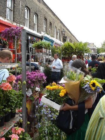 Columbia Road Sunday Flower Market