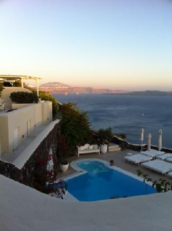 Canaves Oia Hotel : Amazing view from our room