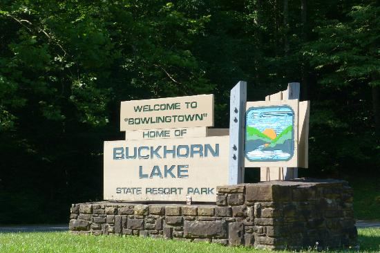 Buckhorn Lake State Resort: Bukhorn LakE!