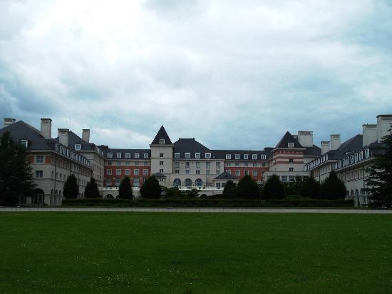 Back Of The Hotel Picture Of Vienna House Dream Castle