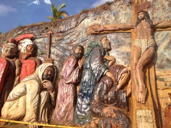 De camino al Cristo Rey.