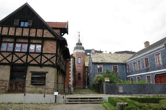 Kulturen in Lund - Museum of Cultural History and Open-Air Museum : some buildings in the open air museum