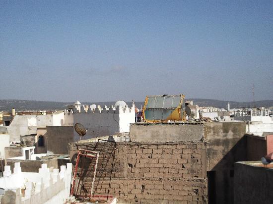 Essaouira Youth Hostel & Social Travel : taken from terrace