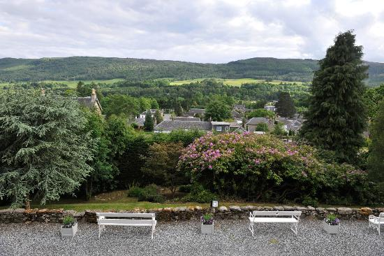 Knockendarroch Hotel & Restaurant : View from our room window