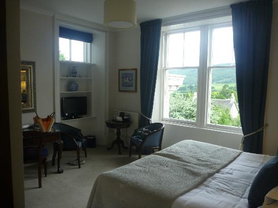 Knockendarroch Hotel & Restaurant : The room