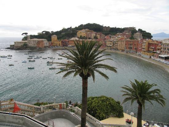 Hotel Genova: Bay of Silence from Church