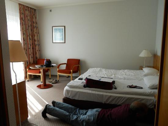 Grand Hotel Reykjavik: Bed