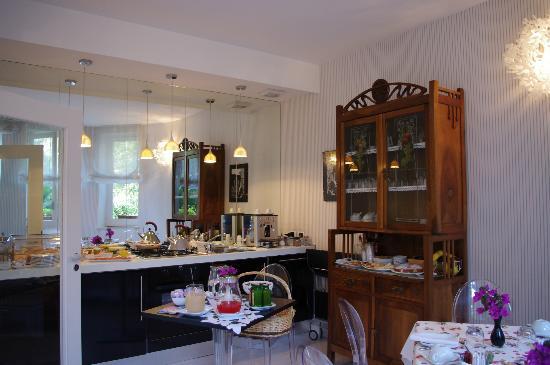 La piccola locanda: Sala colazione