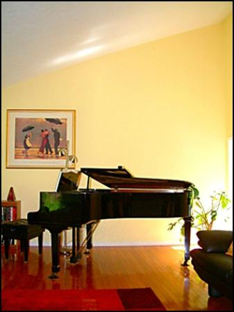 The Glenelg Bed and Breakfast: The Piano