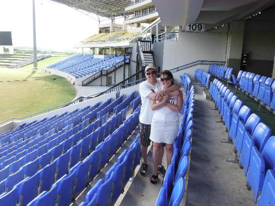 Luxury Safari Antigua: Cricket Stadium
