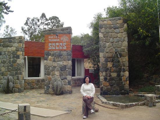 Ovalle, Şili: Entrada del hotel