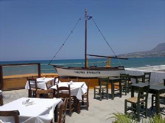 Erodios Apartments: Kalives taverna